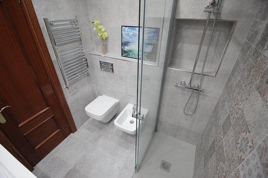 reforma integral interiorismo deco baño Bilbao 8