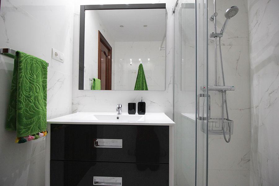 reforma integral interiorismo decoracion baño Bilbao 5